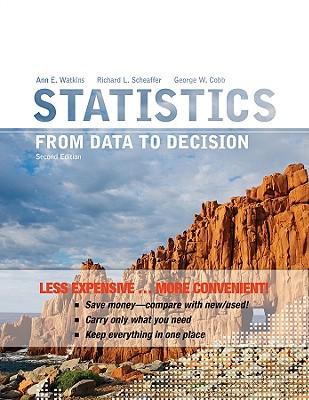Statistics By Watkins, Ann E./ Scheaffer, Richard L./ Cobb, George W.